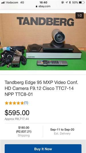 Video Conferencing Unit: Tandberg Codec Edge 95/MXP TTC7-14