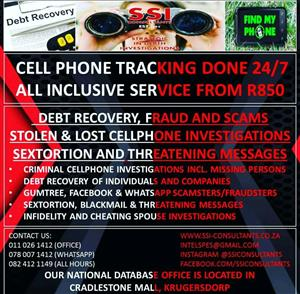 PRIVATE INVESTIGATORS SSICONSULTANTS EST.1995 T/A STRATEGIC IN-DEPTH INVESTIGATIONS OUR ALL HOURS NUMBER 0824121149 WHATSAPP 0780071412