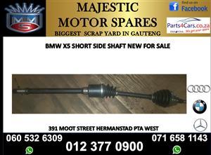 Bmw X5 short side shaft for sale