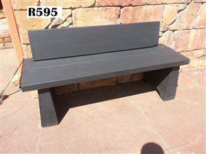 Slate Garden Bench (1300x410x420)