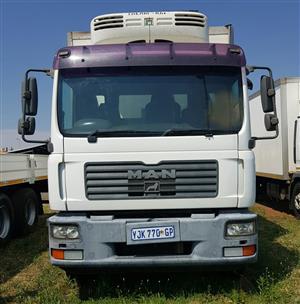 2009 MAN TGM 15-240 Fridge truck for sale.