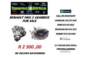 RENAULT MEGANE 2 GEARBOX