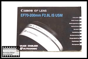 User Manual - Canon EF 70-200mm f/2.8 L IS USM