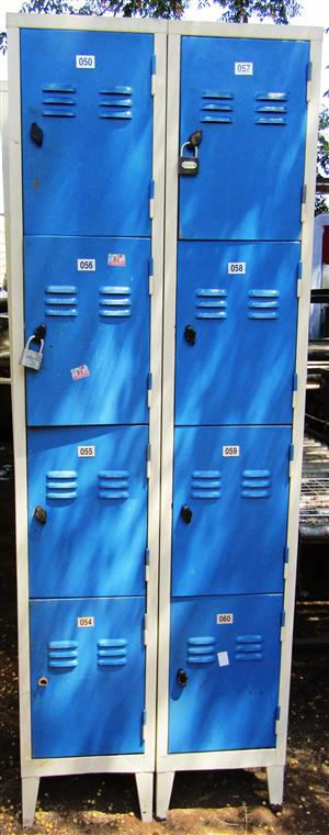 Locker Cabinets - Double