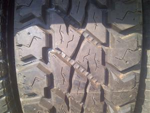 1xDiscoverer Cooper ST Max tyre 265/70/17,new!!