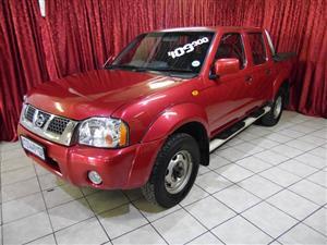 2008 Nissan NP300 Hardbody 2.4 double cab 4x4