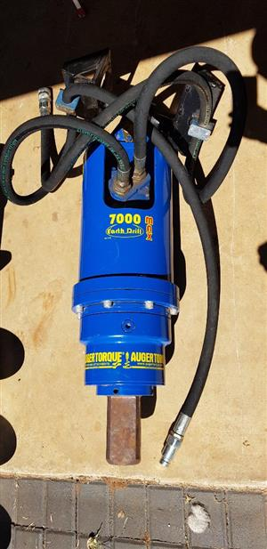 AUGER MOTOR 7000MAX