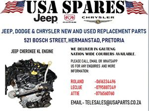 JEEP CHEROKEE KL ENGINE (FOR SALE)