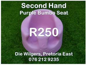 Second Hand Purple Bumbo Seat