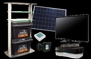 Somerset Maxi Solar System for TV & Fridge