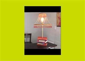 Handmade Book Base Table Lamp(SKU 6)