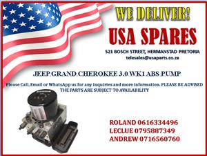JEEP GRAND CHEROKEE WK1 3.0 ABS PUMP