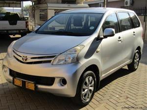 2011 Toyota Avanza 1.5 SX auto