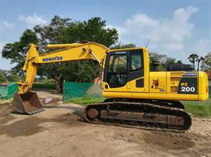 Machinery Rental services