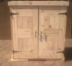 Kitchen Cupboard Farmhouse series Free standing 1200 Raw