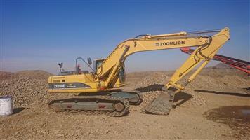 2014 Zoomlion Excavator ZE 260 E