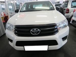 2016 Toyota Hilux single cab HILUX 2.4 GD 6 RB SRX P/U S/C