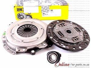 Renault Clio II 1.2 16V 03-09 16V D4F 706 712 714 722 728 55KW 180mm 26 Spline Clutch Kit