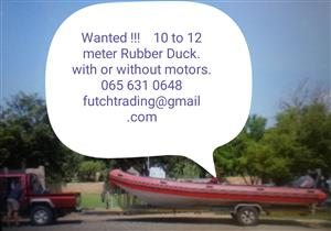 wanted BIG RUBBER DUCK 10 - 12 Meter
