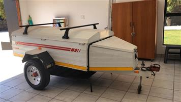 Center trailer 700 kg fully maintained and papers up to date