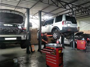 Land Rover Workshop - Service & Repair