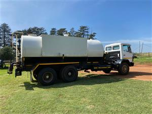 Mercedes Benz 1670 tag axil with Septic tank system.