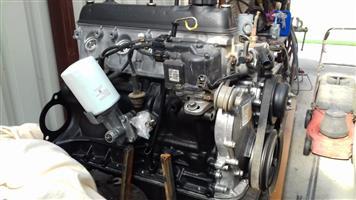 Toyota 2Y 1.8 hi ace motor