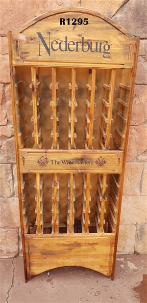 60 Bottle Nederburg Master Winemakers Wine Rack.