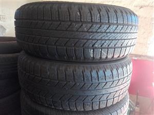 Good Year Wrangler 245/60/18 Tyres - Used