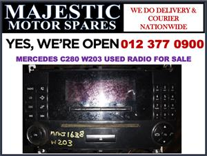 Mercedes benz C280 used radio for sale