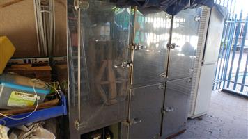 5 Door Stainless Steel Bar Fridge