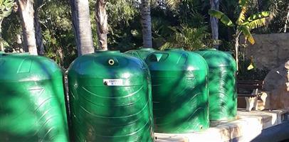 2500L water tanks