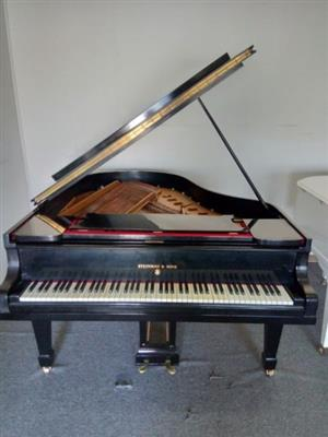 Steinway & Son Black Grand Piano For Sale