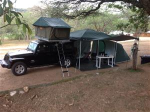 Roof Top Tent For Sale - Chintsa East, East London - Africa Outback Technitop - Hard Shell