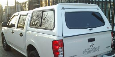 BRAND NEW GC ISUZU 2005-2013 (FITS ON GWM STEED 5) DC BAKKIE CANOPY FOR SALE!!!!!!!!