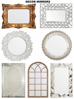Exclusive Mirrors & other Home Wall Decor