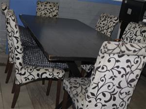 S034943A 7 Piece dining room set #Rosettenvillepawnshop