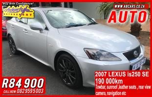 2007 Lexus IS 250 SE automatic