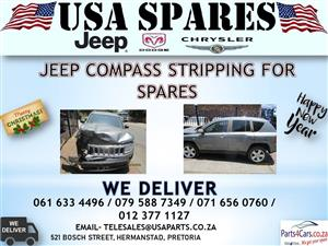 JEEP COMPASS STRIPPING FOR SPARES