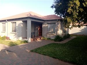 Beautiful house in secured area in Cosmo City for Sale call us now!