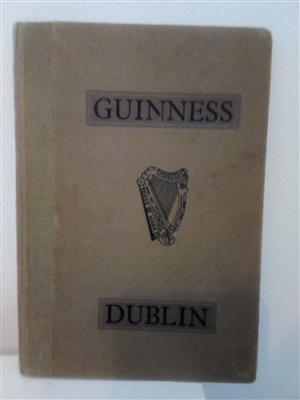 Guinness Dublin Book - Printed 1948 - A mere 70 years old! In good overall condition