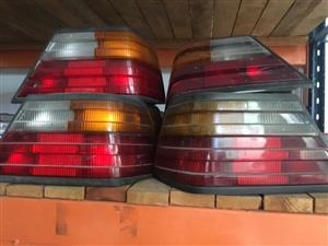 Mercedes-Benz taillights in stock (W123, w126, W124, w202, w210)