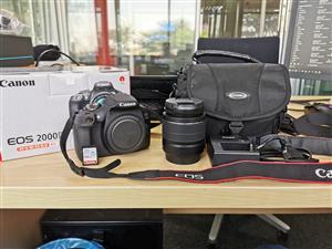 Canon EOS 2000D EF-S 18-55 IS II Kit