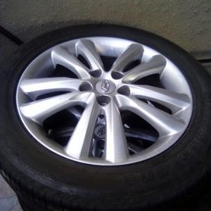 Hyundai IX35 mags and tyres