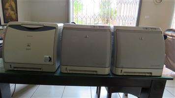 3X Colour LaserJet Printers
