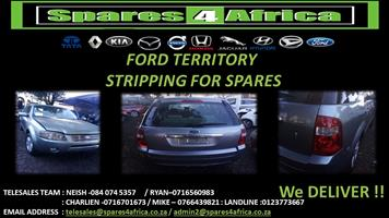 Ford Territory Stripping For Spares