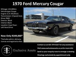 1970 Ford Mercury Cougar