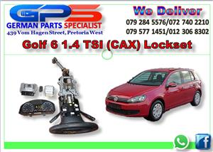 VW GOLF 6 1.4 TSI LOCKSET FOR SALE