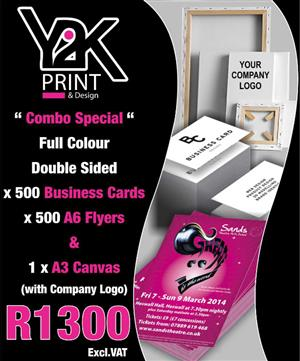 Double Sided Print Special - Y2K Print & Design