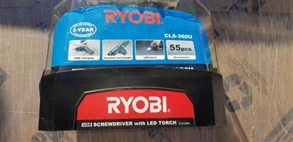 Ryobi usb screwdriver with LED torch